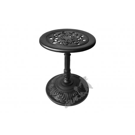 Mini stolik H13 - niski z blatem koronkowym