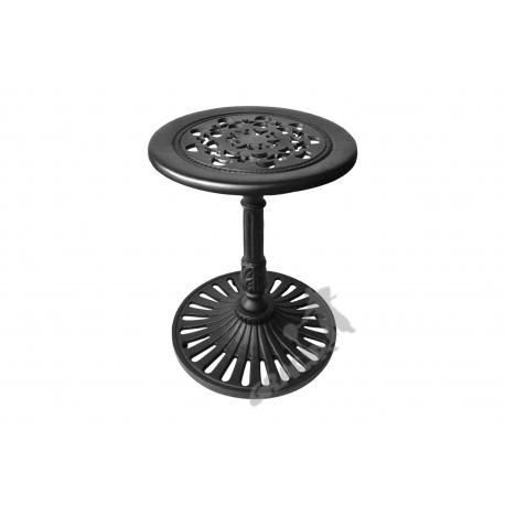 Mini stolik K13 - niski z blatem koronkowym