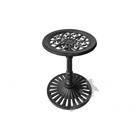 Mini stolik K14 - niski z blatem kwiatowym