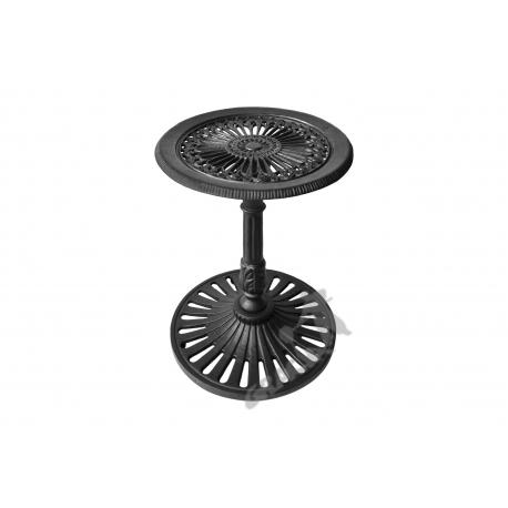 Mini stolik K15 - niski z blatem gęstym