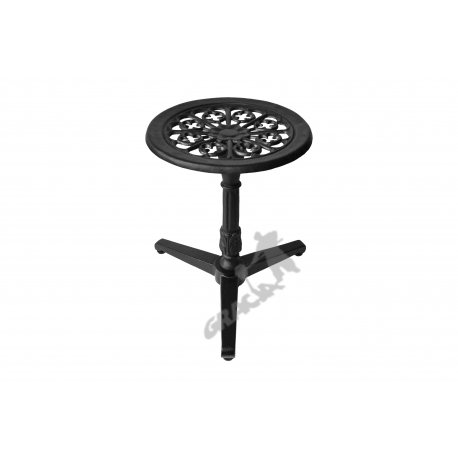 Mini stolik N14 - niski z blatem kwiatowym