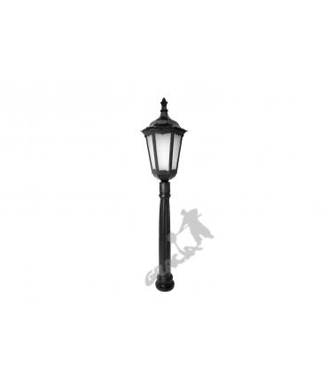Lampa A02 z kloszem żeliwnym stylowym