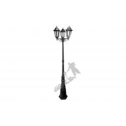 Lampa E03 z kloszem aluminiowym 3-ośw.