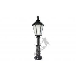 Lampa A12 z kloszem żeliwnym średnim