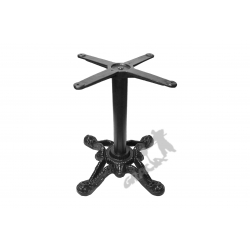 Noga stołu D01 - z rurą niską