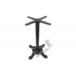 Noga stołu D02 - z rurą średnią