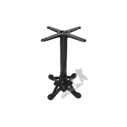 Noga stołu D02 - standardowa z krzyżakiem
