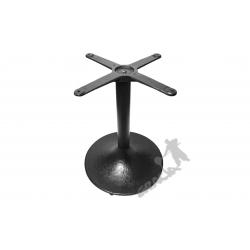 Noga stołu E01 - z rurą niską