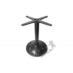 Noga stołu F01 - z rurą niską