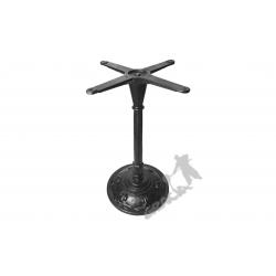 Noga stołu F08 - szczupły słupek z krzyżakiem