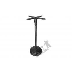 Noga stołu F10 - szczupły wysoki słupek z krzyżakiem