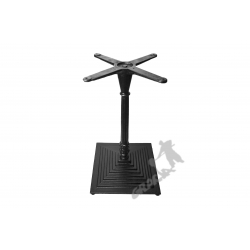 Noga stołu G08 - szczupły słupek z krzyżakiem