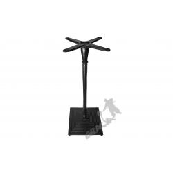 Noga stołu G10 - szczupły wysoki słupek z krzyżakiem