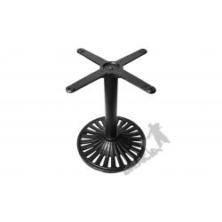 Noga stołu K01 - z rurą niską