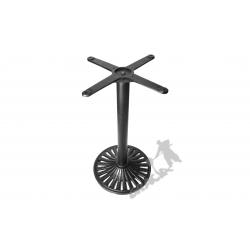Noga stołu K17 - standardowa z krzyżakiem