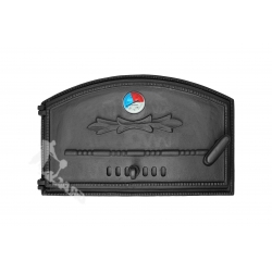 DRZWI C02 LEWE - 29x46 CM + TERMOMETR