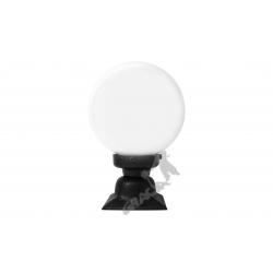 Lampa F04 na słupek z kulą szklaną