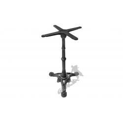 Noga stołu C12 -  słupek z przewiązką z krzyżakiem