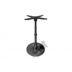 Noga stołu E12 - słupek z przewiązką z krzyżakiem