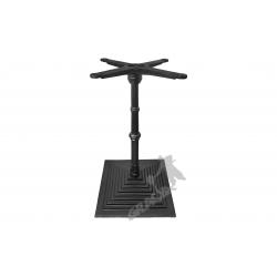 Noga stołu G12 - słupek z przewiązką z krzyżakiem