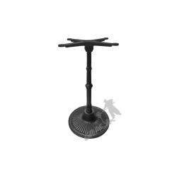 Noga stołu M12 - słupek z przewiązką z krzyżakiem