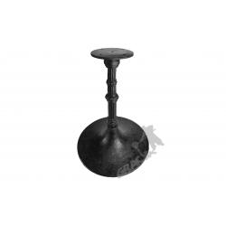 Noga stołu E04 - niska z talerzem
