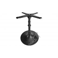 Noga stołu E05 - niska z krzyżakiem