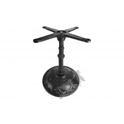 Noga stołu F05 - niska z krzyżakiem