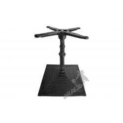 Noga stołu G05 - niska z krzyżakiem