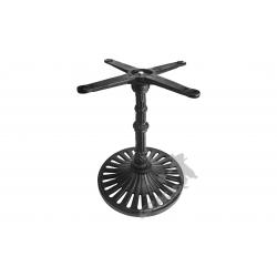 Noga stołu K05 - niska z krzyżakiem