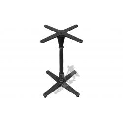 Noga stołu P13 - standardowa z krzyżakiem