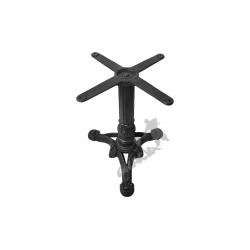 Noga stołu C01 - niska z krzyżakiem