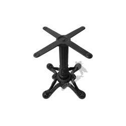 Noga stołu D01 - niska z krzyżakiem