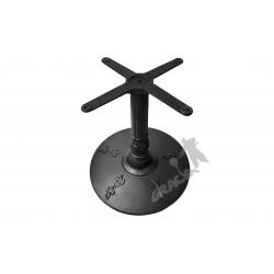 Noga stołu J01 - niska z krzyżakiem