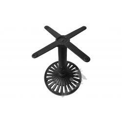 Noga stołu K01 - niska z krzyżakiem