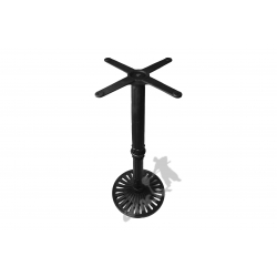 Noga stołu K03 - wysoka z krzyżakiem