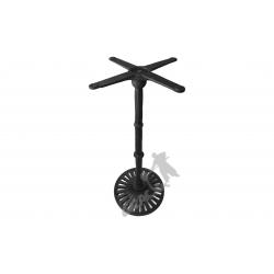 Noga stołu K09 - wysoka z krzyżakiem