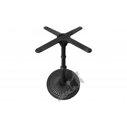 Noga stołu L07 - standardowa z krzyżakiem