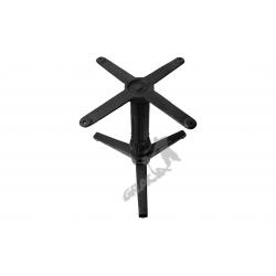 Noga stołu N01 - niska z krzyżakiem