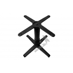 Noga stołu P01 - niska z krzyżakiem