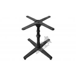 Noga stołu P05 - niska z krzyżakiem
