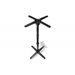 Noga stołu P09 - wysoka z krzyżakiem